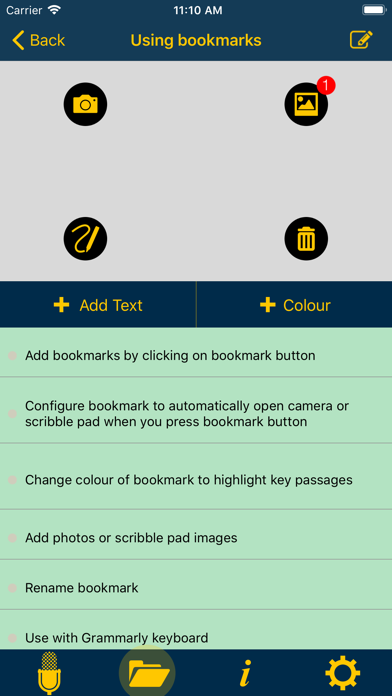 Notetalker-make better notes screenshot three