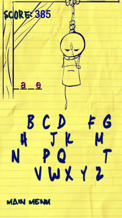 Ultimate Hangman Go screenshot-1