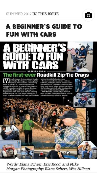 Roadkill Magazine Screenshot