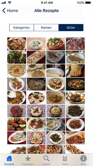Living At Home Rezepte 100 libanesische rezepte im app store