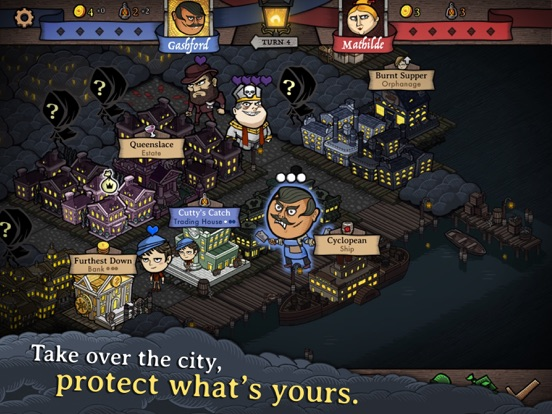 Antihero - Digital Board Game для iPad