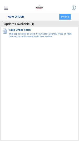 Trails End Scout Popcorn on the App Store on organization order, internet order, iphone app order, ios 8 app order,