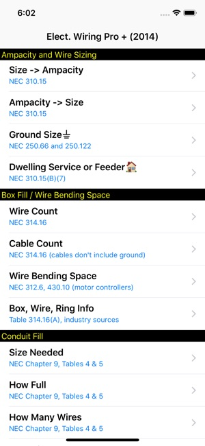 Electrical wiring pro 2014 on the app store screenshots greentooth Choice Image