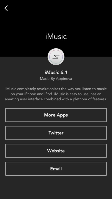 iMusic - Music App Screenshots