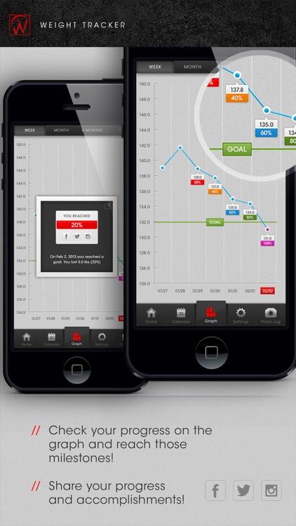 Weight Tracker Journal Pro screenshot-3