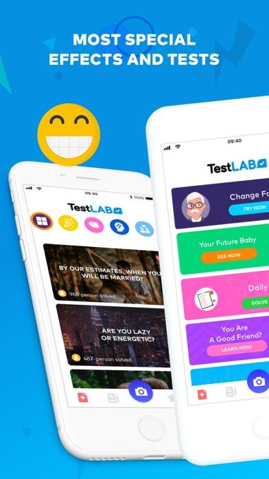 TestLab - Tests & Effects Screenshot 1