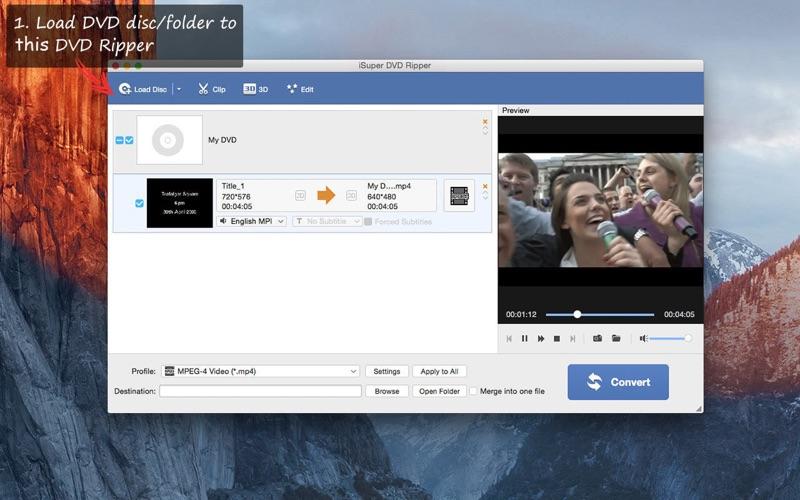 Free DVD Ripper Screenshot