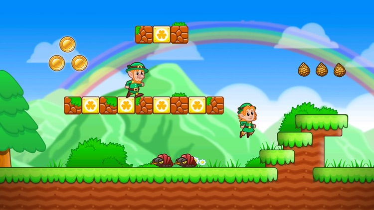 Lep's World - Jumping Game screenshot-0