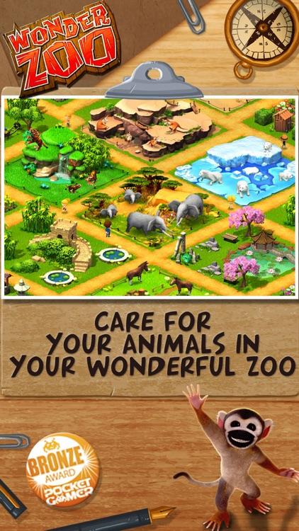 Wonder Zoo - Animal Rescue! screenshot-0