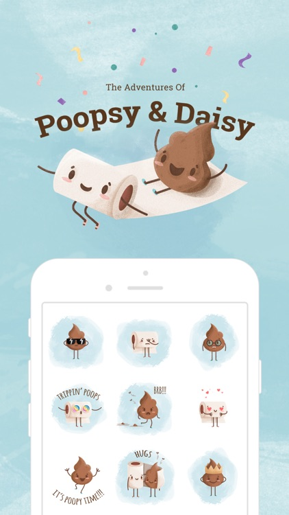 Poopsy Daisy - Poo stickers screenshot-0