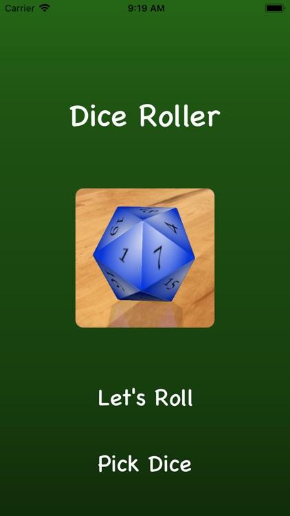 Dice Roller AR
