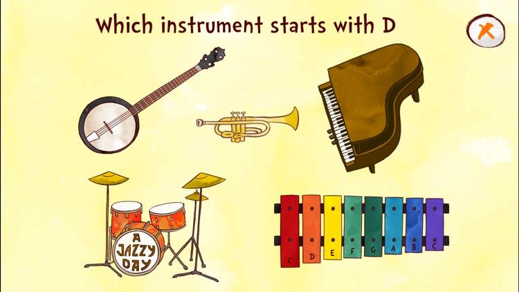 Jazzy ABC - Music Education screenshot-3