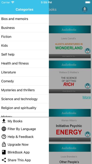 AudioBooks: Best of AudioBooks screenshot three