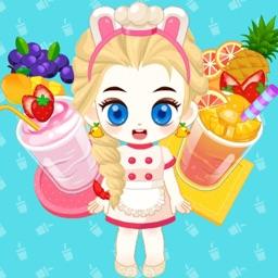 料理姐姐做冰沙—做饭装扮游戏