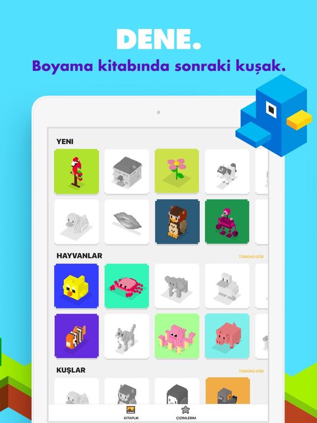 Unicorn 3d Boyama Oyunları App Storeda