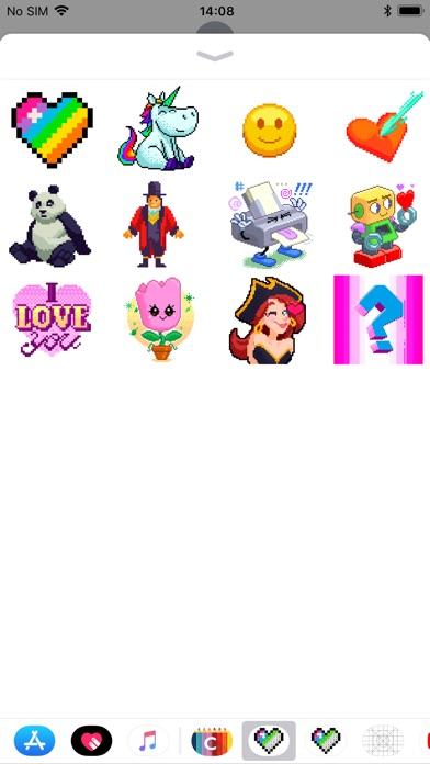 Malen nach Zahlen StickerScreenshot von 2