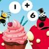 パン屋での123コンピュー!カブトムシの国における数学の課題の解決策を見つける!子供のための学習ゲーム - iPhoneアプリ