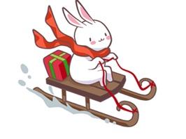 christmas buddy sticker pack