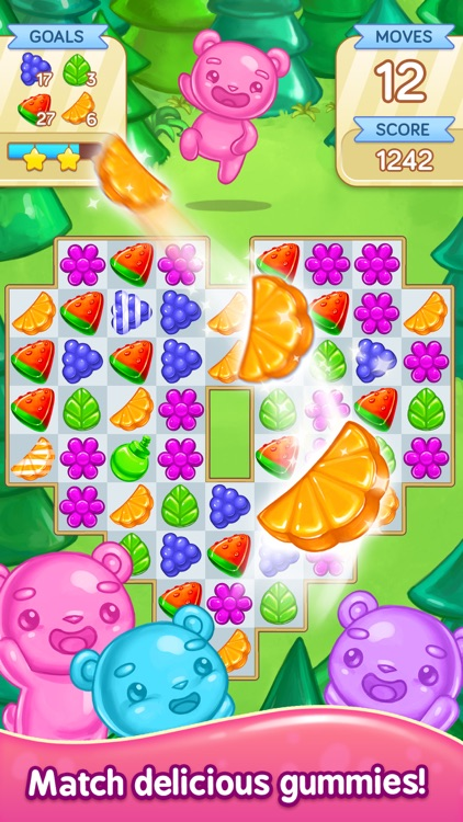 Gummy Gush: Match 3 Puzzle screenshot-0