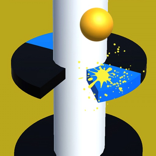 Ball Helix Jumping Game 3D