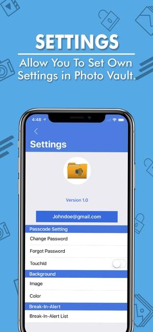 How to crack vault password in iphone