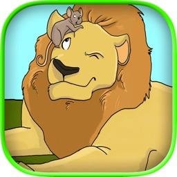 El León y el Ratón con WordWinks