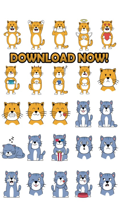 Cat Lovers Emojis and Stickers screenshot-4