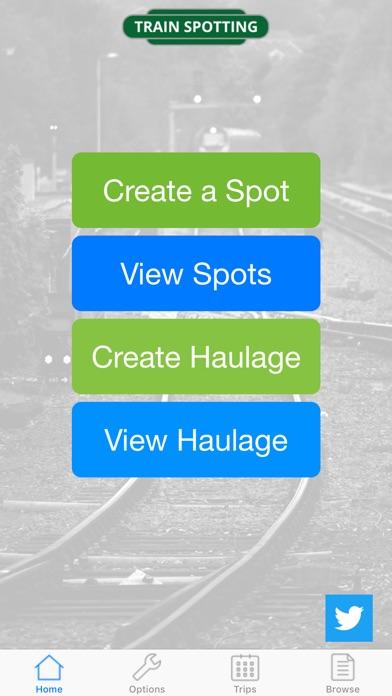 TrainSpotting screenshot one