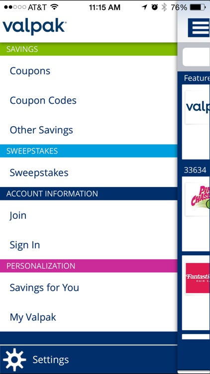 Valpak Local Coupons