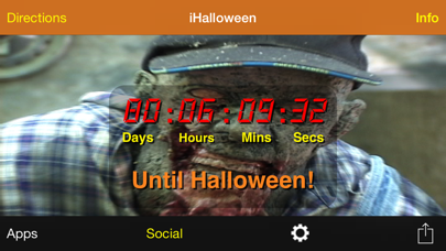 iHalloween Countdown screenshot two