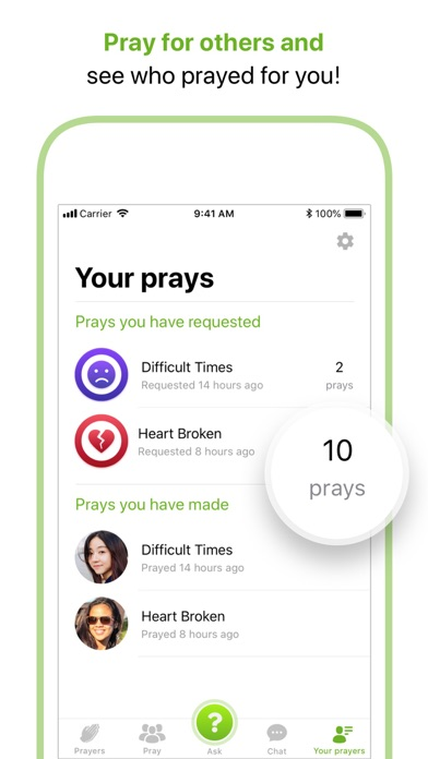 Faith In Us - Prayer Community Screenshot
