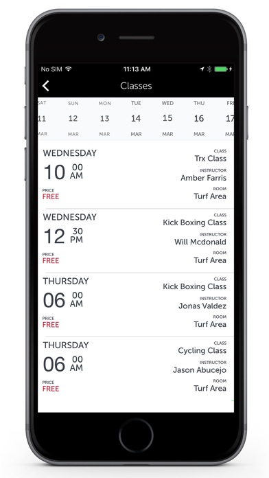Fitness One app image