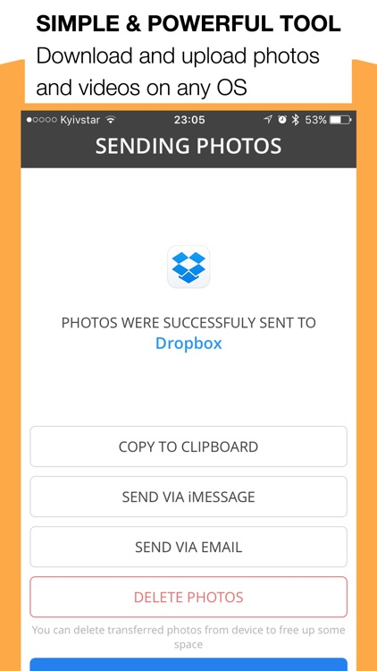 Photo Transfer 3.0 Advanced screenshot-4