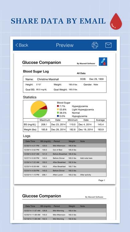 Glucose Companion Pro screenshot-4