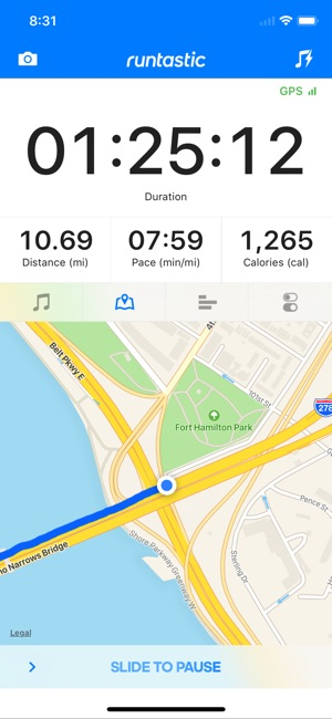 Runtastic Running Tracker PRO Screenshot