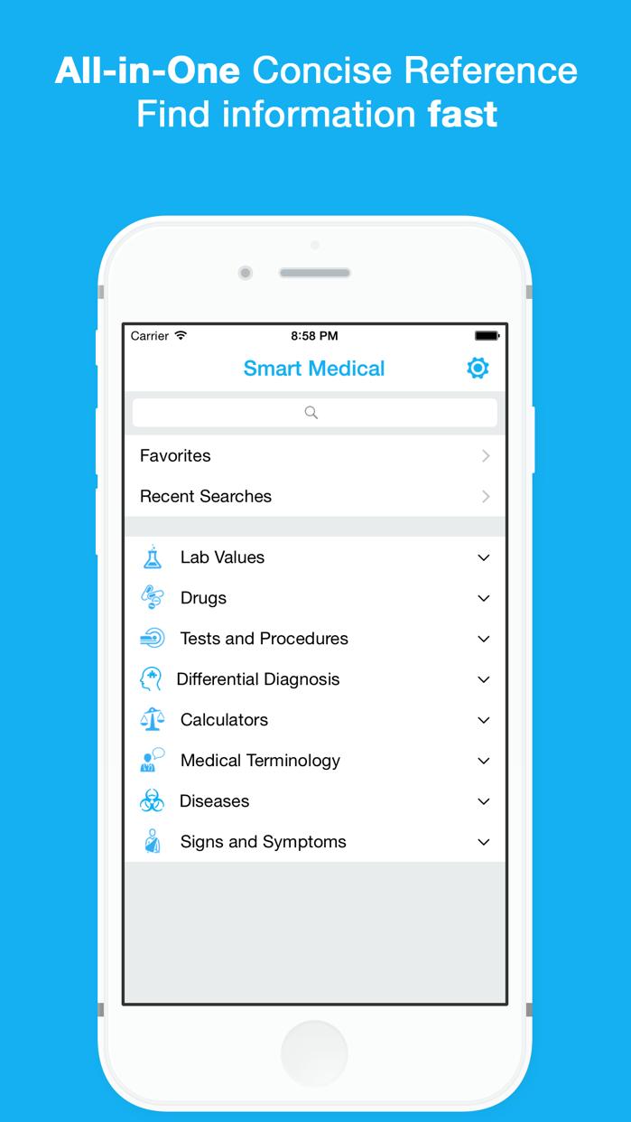 Smart Medical Reference Screenshot