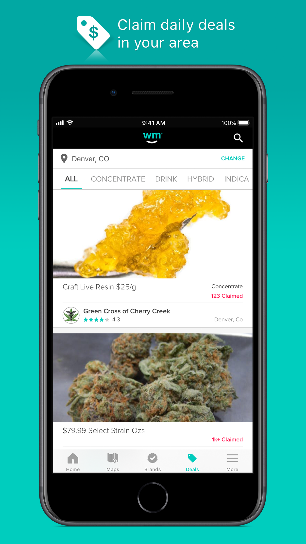 Weedmaps: Marijuana & Cannabis Screenshot