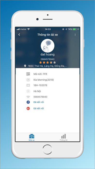 Screenshot for VIET MT - Tài Xế in Japan App Store