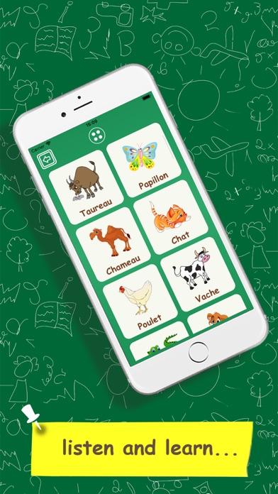 子供のためのフランス語を学ぶのスクリーンショット3