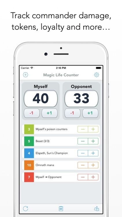 Magic Life Counter