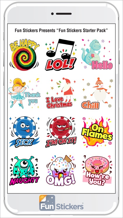 Fun Stickers Starter Pack