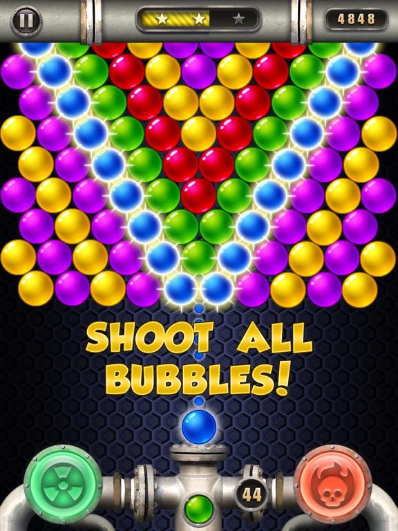 пузыри империи чемпионов на iPad
