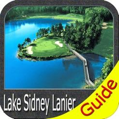 Lake Lanier GA Fishing Charts