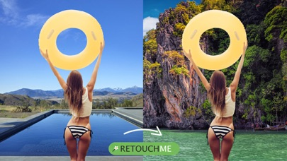 Retouch Me: Body & Face Editor app image