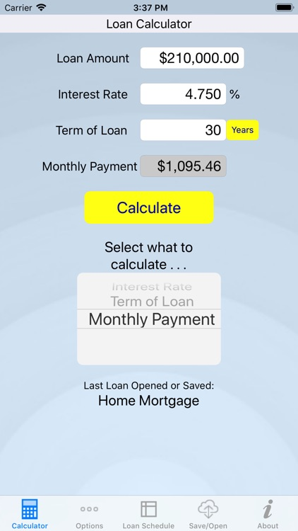 Loan Review - Loan Calculator