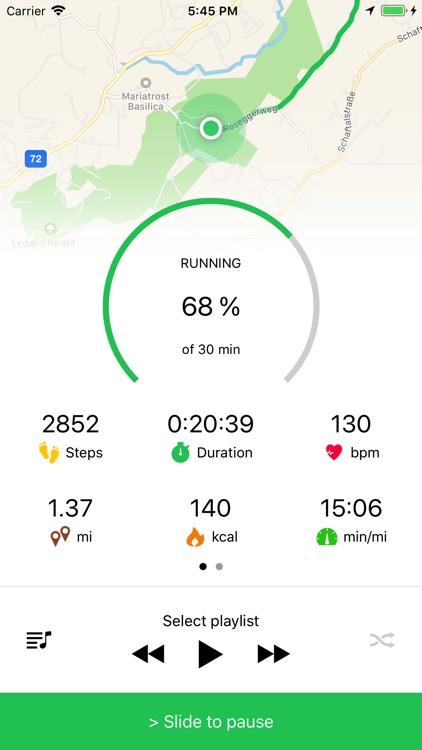 Running Walking Tracker Goals screenshot-3