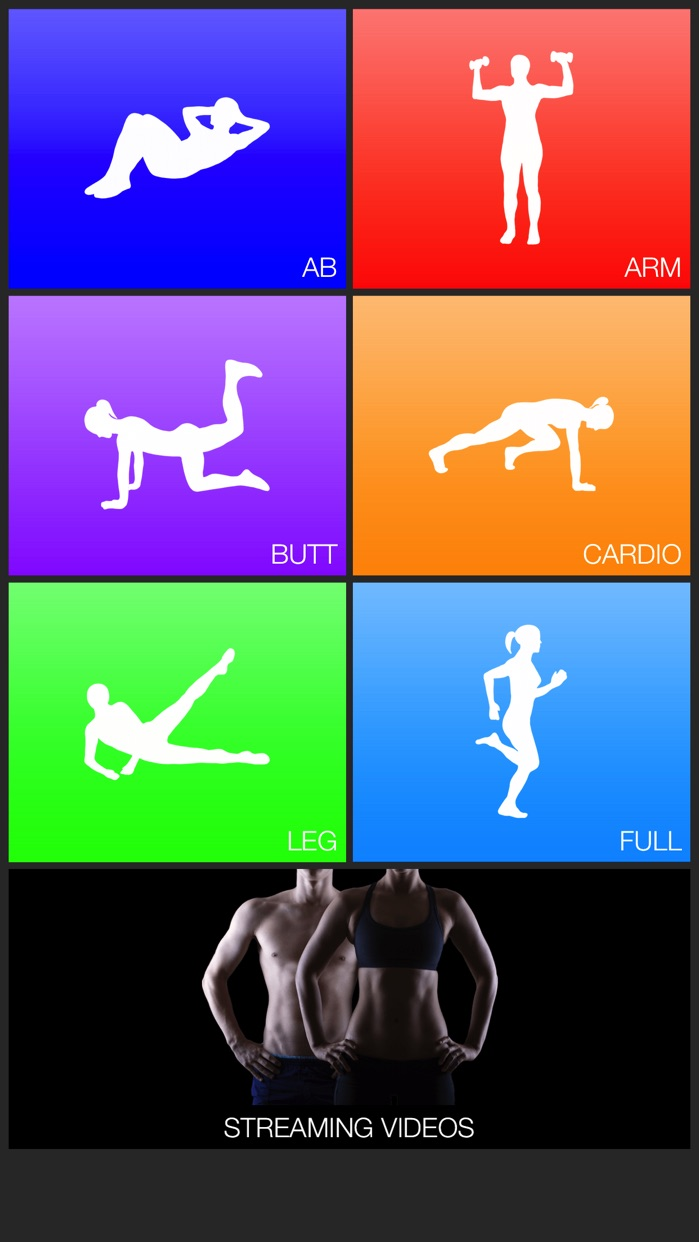 Daily Workouts Fitness Routine Screenshot