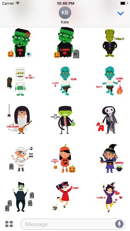Halloween Character animated 3