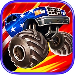 Monster Truck Hill Road Climb