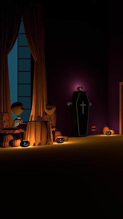 脱出ゲーム Halloween おばけとかぼちゃと魔女の家紹介画像1